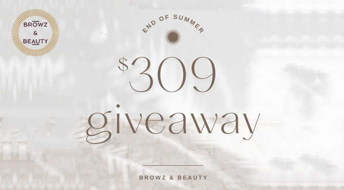 $309 End of Summer Giveaway